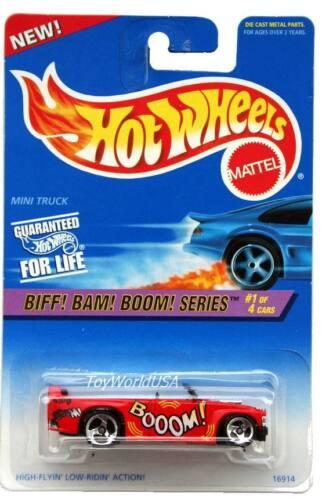 1997 Hot Wheels #541 Biff! Bam! Boom! #1 Mini Truck 0911 crd