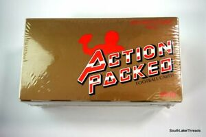 1990-ACTION-PACKED-FOOTBALL-ROOKIE-UPDATE-Factory-sealed-box-EMMITT-SMITH-RC