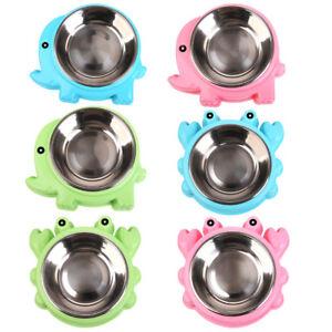 EG-STAINLESS-STEEL-NON-SLIP-DOG-PUPPY-PET-ANIMAL-FEEDING-FOOD-WATER-BOWL-DISH-S
