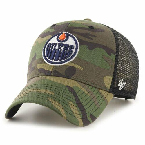 47 Brand Snapback Cap BRANSON Edmonton Oilers wood camo