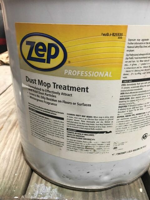 Zep Professional R25535 Dust MOP Treatment 640 Oz  Wintergreen