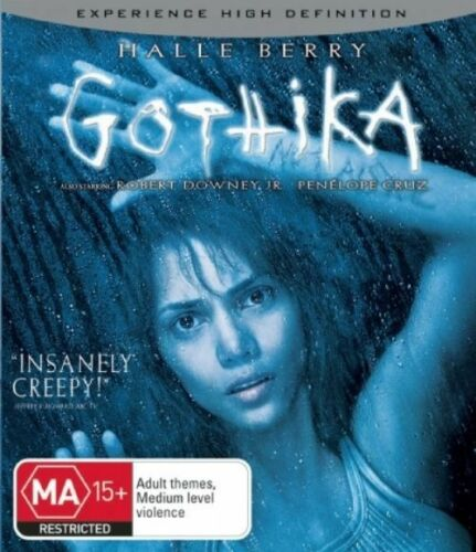 1 of 1 - *New & Sealed* Gothika (Blu-ray, 2007) Halle Berry, Robert Downey Jr Horro Movie