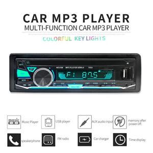1Din-Bluetooth-Car-Stereo-In-dash-FM-Aux-Input-Receiver-MP3-USB-AUX-Radio-Player