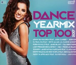Dance-Yearmix-TOP-100-2017-3-CD-NEUF