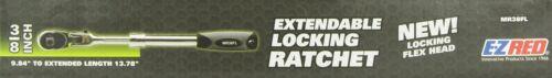 Ez Red MR38FL 3//8 Drive Extendable Flexhead Locking Ratchet