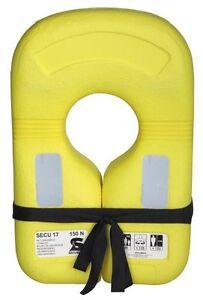 Secumar Rettungskragen Secu 17 Jaune Rettungsmittel Feststoffweste