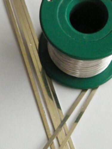 Easy Silver Strip Solder 3.0mm x 0.50mm x 100mm For Easy Jewellery Repairs