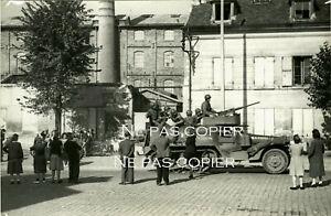 CACHAN Libération arrivée 2ème DB Leclerc 25 août 1944  par Borremans WWII