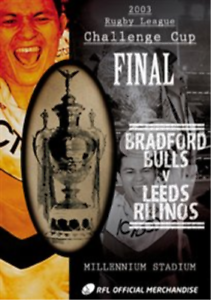 Rugby-League-Challenge-Cup-Final-2003-Bradford-Bulls-V-UK-IMPORT-DVD-NEW