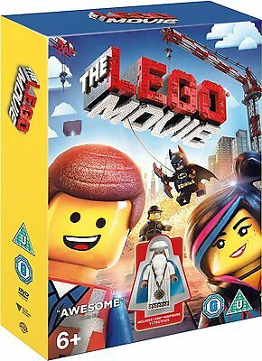 The LEGO Movie (Includes LEGO Minifigure Vitruvius) (DVD)