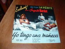 "XAVIER MICHEL ""YO TENGO UNA MUNECA..."" O.S.T. BRIGITTE BARDOT E.P. ITALY'63"