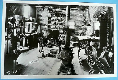"12 By 18"" Black & White Picture Henry Ford's Original Workshop"
