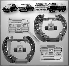 Volkswagen Golf Mk1 Cab Febi Germany 40mm Rear Brake Shoes & Wheel Cylinder Kit