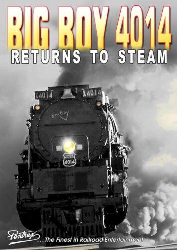 MORE BIG BOY 4014 RETURNS TO STEAM PENTREX BLU RAY VIDEO NEW 844
