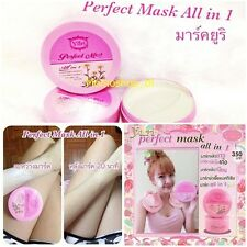 Yuri Perfect Mask All-in-1 Whitening lightening Facial White Face Body 175g NEW