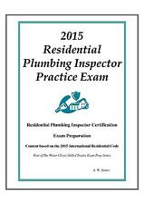 2015 ICC Residential Plbg Inspector Practice Exam on USB Flash Drive