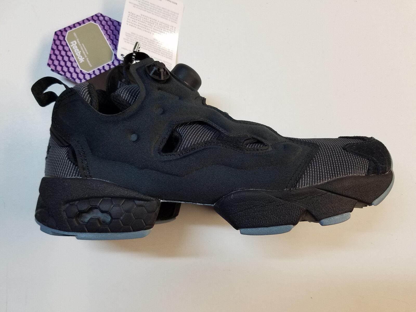 Reebok Instapump Fury MTP Black Grey Running Retro Mens Sneakers BD1502 1801-15