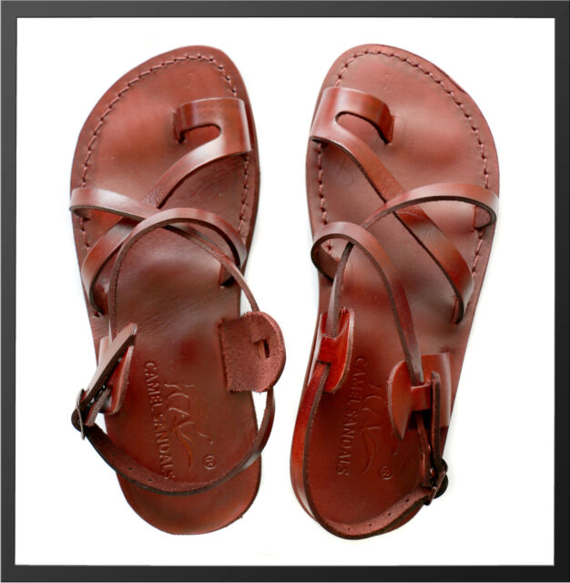 Brown 49 Sandals Summer Ladies Shoesamp; 36 Leather Mens