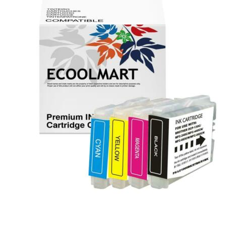 4 NEW LC51 C M Y BK Set Ink Cartridge for Brother MFC-230C MFC-240C MFC-3360C