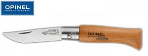 OPINEL-N-3-COUTEAU-LAME-CARBONE-4-CM-MANCHE-HETRE-5-5-CM