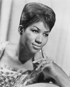 039-Queen-of-Soul-039-Singer-ARETHA-FRANKLIN-Glossy-8x10-Photo-Music-Print-Poster