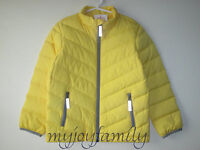 Hanna Andersson Warm Up In Down Jacket Coat Warm Sun Yellow 120 6-7