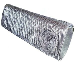 EVENING-WEDDING-COCKTAIL-FORMAL-CLUTCH-BAG-039-SILVER-GREY-039