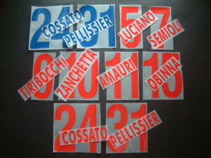 KIT-NOME-NUMERO-UFFICIALE-AC-CHIEVO-HOME-AWAY-2005-2006-OFFICIAL-NAMESETS