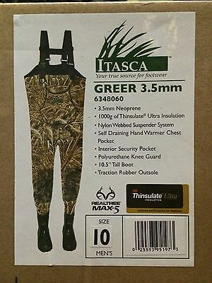 Itasca (Columbia) Chest waders,3.5 mm neo,1000 gr Thinsulate, 2 patterns