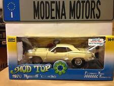 1970 PLYMOUTH CUDA 440 CREAM BY HIGHWAY 61 1:18 SPECIAL CHASE CAR 1 OF 200 MADE