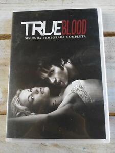 TRUE BLOOD SEGUNDA TEMPORADA 2 COMPLETA - 5 DVD + EXTRAS ESPAÑOL ENGLISH
