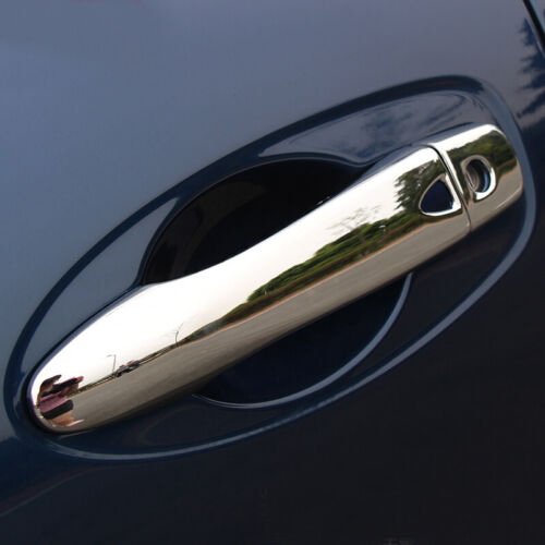 ABS Chrome Side Car Door Handle Cover Trim 8pcs for Nissan Kicks 2016 2017 2018