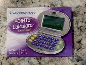 Weight Watchers Point Calculator With Daily Tracker NEW Factory Sealed .
