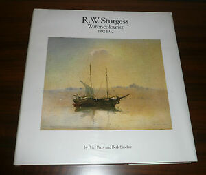 R-W-STURGESS-WATER-COLOURIST-1892-1932-LTD-EDITION-1312-1500-AUSTRALIAN-ARTIST