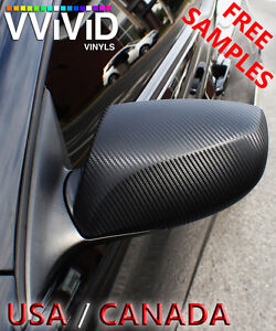 "Carbon Fiber Dark Green VViViD DGW5M01 6.5ftx5ft 78/""x60/"" Vinyl Wrap Air Release"