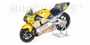 Honda Nsr 500 N ° 46 Valentino Rossi GP Lemans 2001 Modèle 1:12 Minichamps