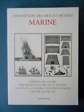 MARINE - Réimpression des textes techniques majeurs du XVIII è . 2002.