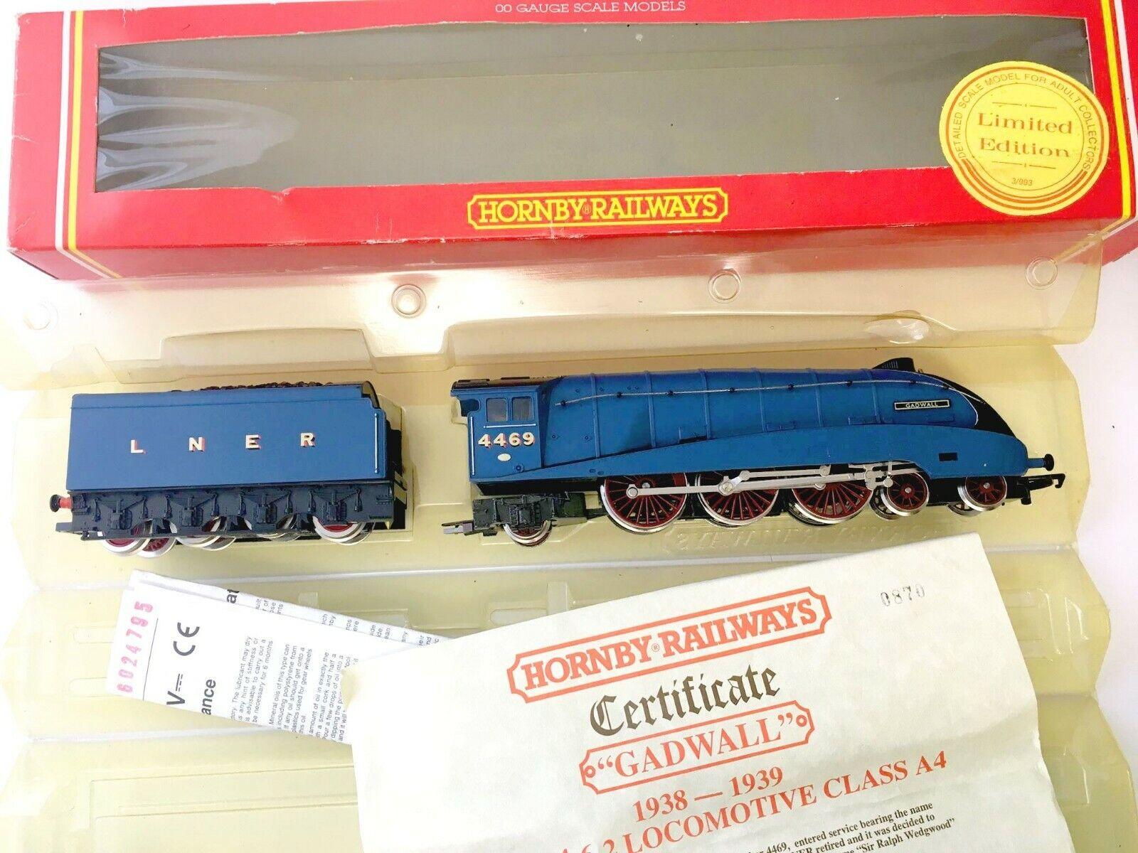 hasta un 70% de descuento Hornby OO R373 Gadwell 4469 LNER LNER LNER New Never Run Vintage in Original Box  cómodo