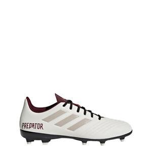 b5ad5ae08df Adidas Predator 18.4 FG Firm Ground Women s Soccer Cleats White ...