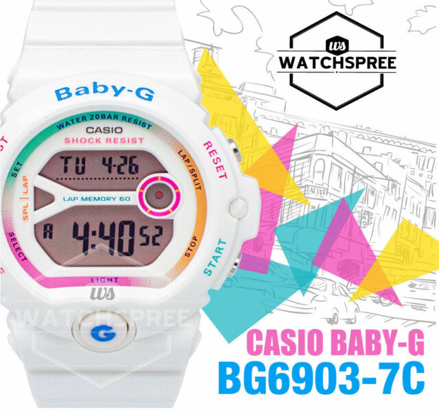 Casio Baby-G Runners Series Vivid Pop Color Watch BG6903-7C AU FAST & FREE