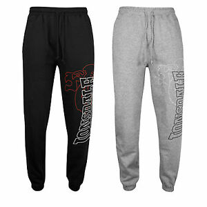 Lonsdale-DARTFORD-Jogging-Gym-Sweatpants-Training-Pants-Trousers-Black-or-Grey