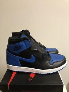 online store 993ab f3907 Image is loading Nike-Air-Jordan-Retro-1-OG-High-Royal-