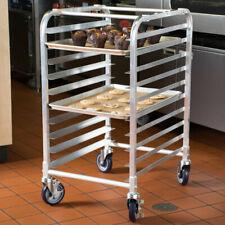 10 Pan End Load Half Height Bakery Bun Sheet Pan Speed Rack