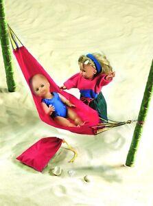 Puppenzubehoer-Puppen-Haengematte-Camping-Wellness-Outdoor-Garten-Heless-200