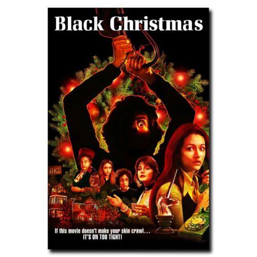 Black Christmas 20x30 24x36inch Horror Movie Silk Poster Door Room Decal