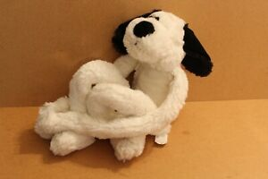 ANIMAL-ALLEY-PLUSH-White-Black-Puppy-Dog-24-034-incl-long-dangly-legs