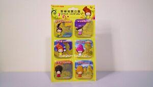 TAIWAN-Fridge-Magnet-YEHLIU-GEOPARK-Set-of-6