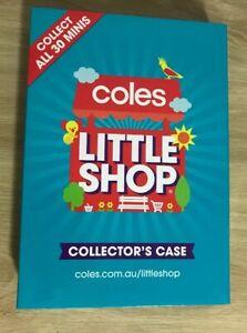 Coles-Little-Shop-Minis-Complete-Set-Series-1-With-Folder