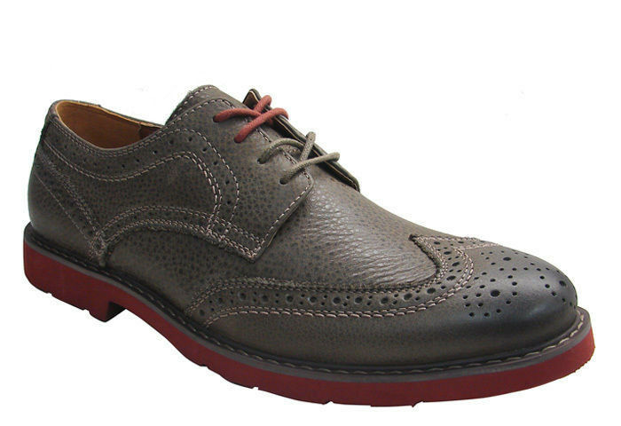 GBX  MENS 4 EYE BUX WING TIP OLIVE Leather STYLE