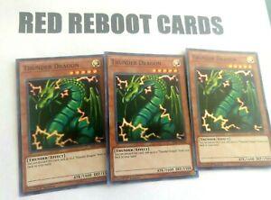 3x-Thunder-Dragon-Super-Rare-HISU-1st-ed-Yugioh-Mint